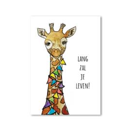 Postcard: lang zal je leven!