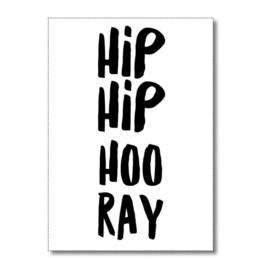Postcard: HIP HIP HOO RAY