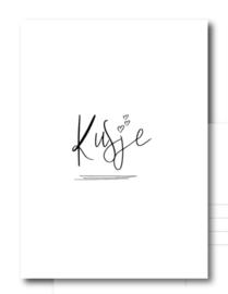 Postcards wit/zwart
