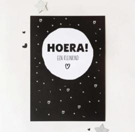 Postcard: HOERA! een kleinkind