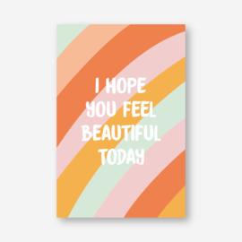 Minikaartje: beautiful (K)