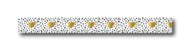 Masking tape, hartjes (goudfolie)