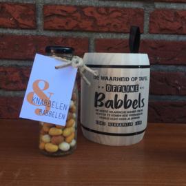 Kerst pakket: Babbels & knabbelen