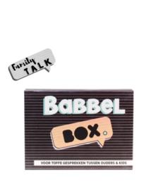 Babbel bos, family talk