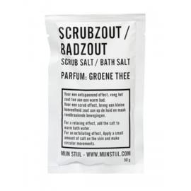 Zakje scrubzout/badzout