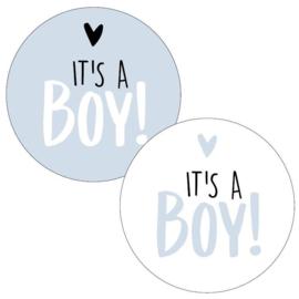 6 x kadosticker: it's a boy