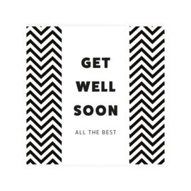 Chocolade: get well soon