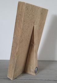 steigerhout klembord/memobord, old look met standaard