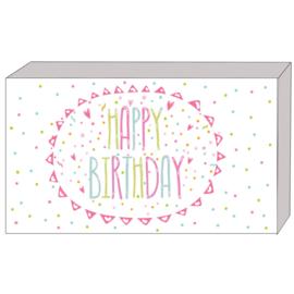 Kado doosje: happy birthday