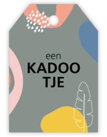 Kadokkartje: een KADOOTJE