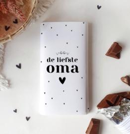 Chocolade wikkel: voor de liefste OMA *