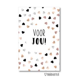 Minikaartje: voor jou (M)