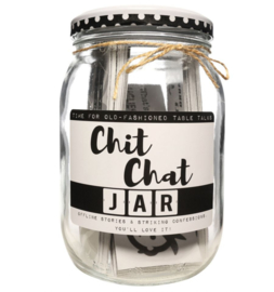 Kletspot, Engelse versie: Chit chat jar.