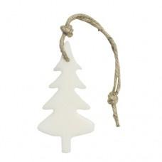 Zeephanger kerstboom wit/ecru