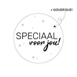 5 x kado sticker: SPECIAAL voor jou!