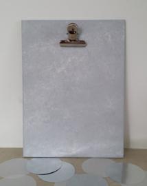 Houten klembord M 'betonlook'