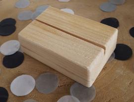 Kaarten houder S, nieuw steigerhout