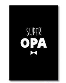 Mini kaartje: super opa (M)