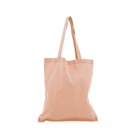 Katoenen tas:  roze