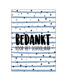 Postcard: bedankt voor het schooljaar