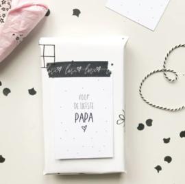 Minikaartje: voor de liefste Papa (M)