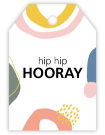 Kadokaartje: hip hip HOORAY