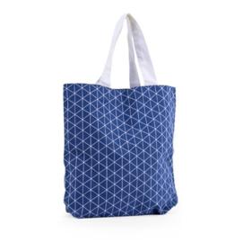 Triangle tas, denim blauw