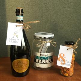 Kerstpakket: Business babbels, knabbels & bubbels (18+)