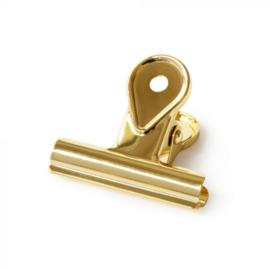 Office clip goud, 4 cm