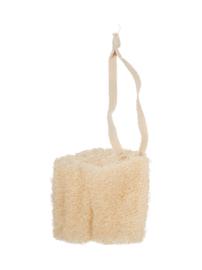 Loofah spons voor douche/bad aan koord