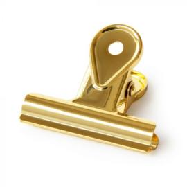 Office clip goud, 5 cm