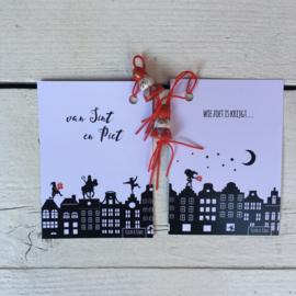 Gelukskaartje: van Sint & Piet