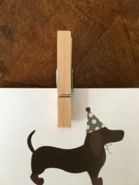 Houten knijper (5 cm)
