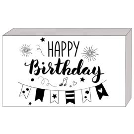 Kadootje in een doosje:  HAPPY birthday
