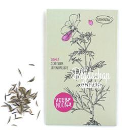 Zakje bloemenzaadjes: 'blijdschap zaaien'