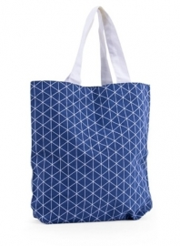 Triangle tas, denim blauw