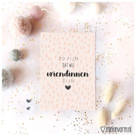 Postcard: zo fijn dat wij vriendinnen zijn