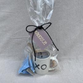 Kadosetje: mok XO, thee & koekjes