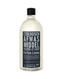 Afwasmiddel parfum linnen, 1 literfles