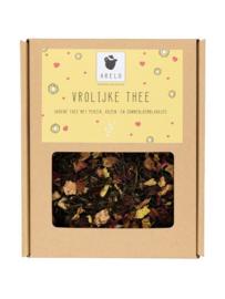 'Vrolijke thee' in een doosje