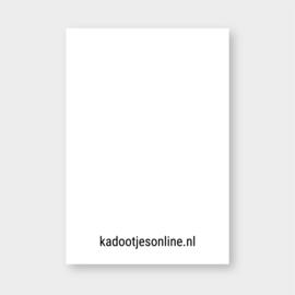 Mini kaartje: liefs (goudfolie) (K)