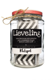 Kletspot 'lieveling'