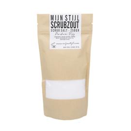 Scrubzout in zak parfum amandel 250 ml