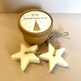 Doosje met sterren zeep: it's the most happiest season of all