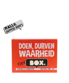 Doen, durven, waarheid BOX (18+)