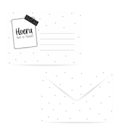 Envelop: Hoera het is feest