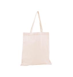 Katoenen tas: nude roze
