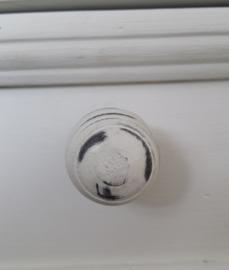 kast/deur knopje hout, rond