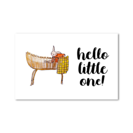 ~Minikaartje: hello little one!  (M)