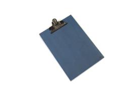 Klembord A4  vintage blauw
